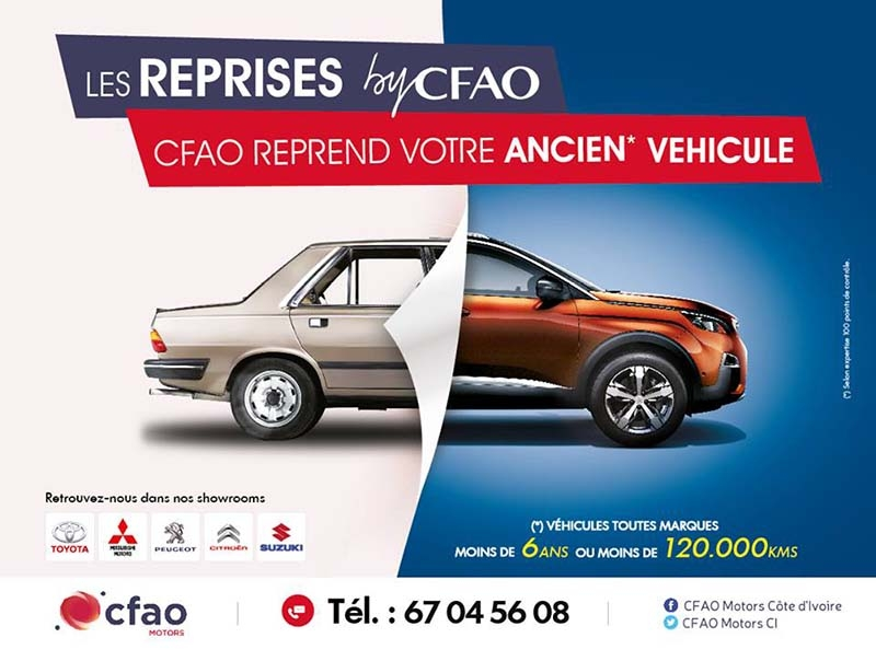 Les reprises by Cfao Mitsubishi CI